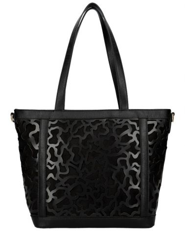 Am Montreux shopper kabelka LASER CUT BLACK 136 AM0136_BK