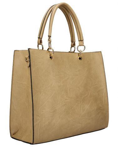 Am Montreux SET kabelka SQUARE AND RIVETS TAUPE 9270 9270_TE