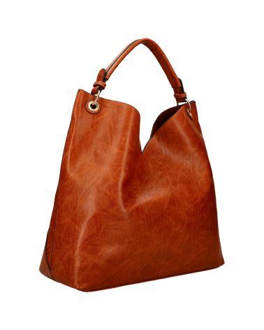 Am Montreux SET velká kabelka hobo hnědá 9281 9281_BN