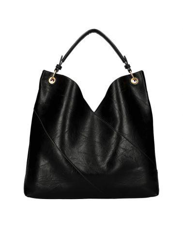 Am Montreux SET velká kabelka hobo černá 9281 9281_BK