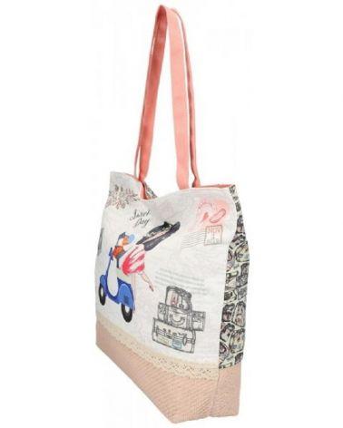 Sweet & Candy velká shopper taška BEACH 836-2 SCB836_2