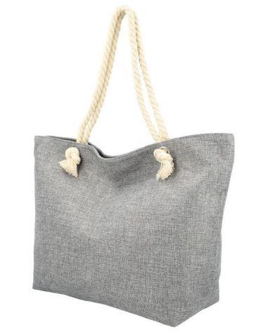 Sweet & Candy velká shopper taška GREY BEACH 21509 21509_GY