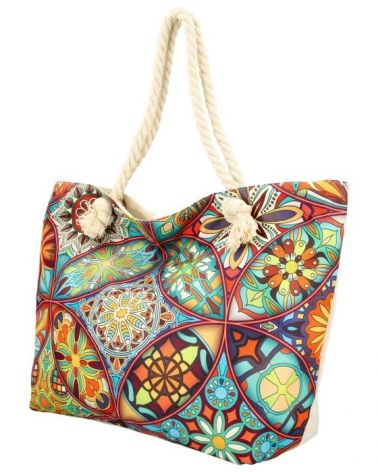 Sweet & Candy velká shopper taška MULTICOLOUR BEACH 21503-5 21503_5
