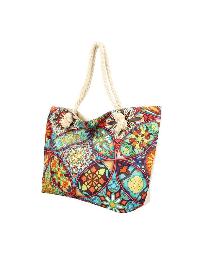 Sweet & Candy velká shopper taška MULTICOLOR BEACH 21503-5 21503_5