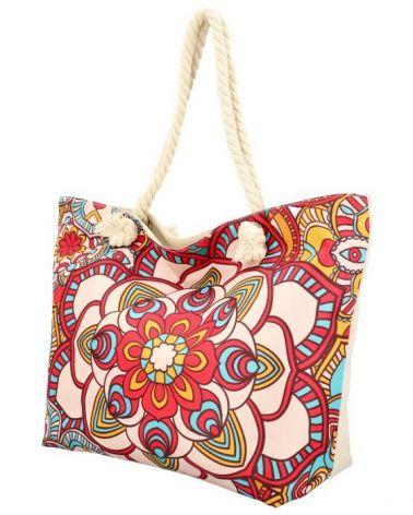 Sweet & Candy velká shopper taška MULTICOLOR BEACH 21503-3 21503_3
