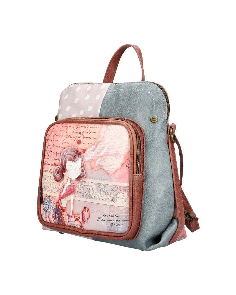 Sweet & Candy dámský batoh PATCHWORK PINK 53 C053_PK