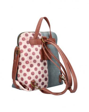 Sweet & Candy dámský batoh PATCHWORK VIOLET 53 C053_VT