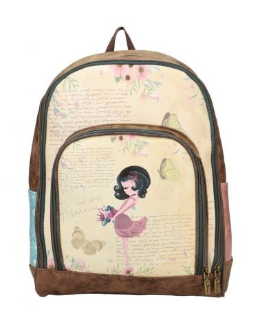 Sweet & Candy dámský batoh SMILE BUTTERFLY 828 SWC828-4_YW