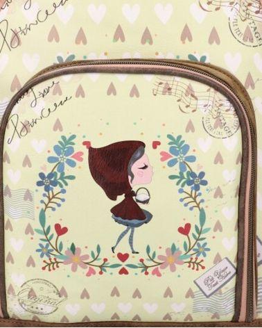 Sweet & Candy dámský batoh SMILE HEART 828 SWC828-5_YW