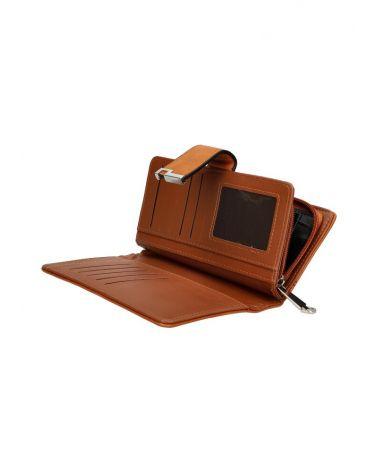 Dámská peněženka koňaková 5006 D5006_BN