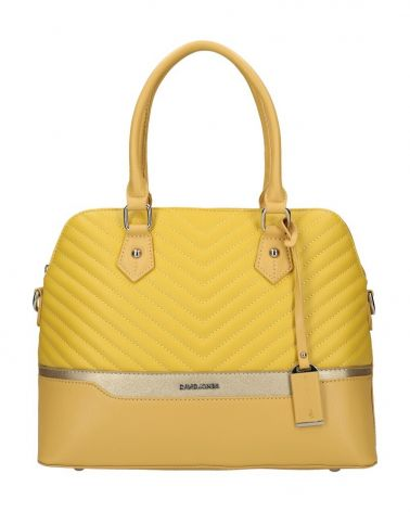 David Jones kabelka BOWLING BRIEFCASE YELLOW 6220 6220_YW