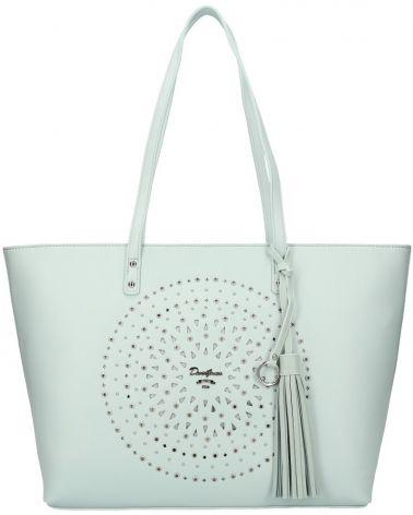 David Jones kabelka MANDALA LASER CUT LIGHT BLUE 6303 6303_GN