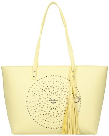 David Jones kabelka MANDALA LASER CUT YELLOW 6303 6303_YW