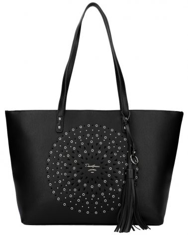 David Jones kabelka MANDALA LASER CUT BLACK 6303 6303_BK