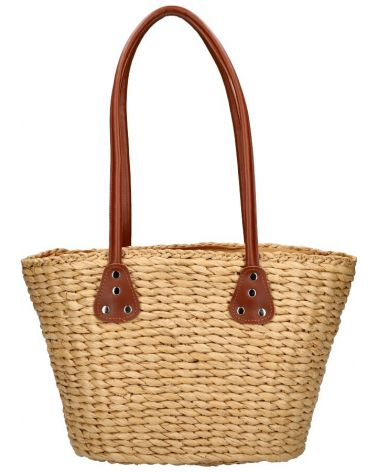 David Jones velká shopper taška WICKER BEACH BEIGE 32 YQ32_BG