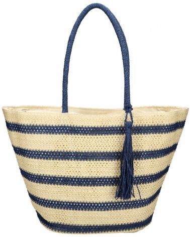 David Jones velká shopper taška STRIPE BEACH 39 YQ39