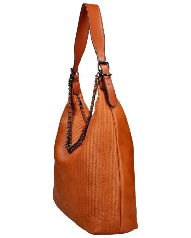 Am Montreux velká kabelka HOBO QUILTED BROWN 6333 6333_BN