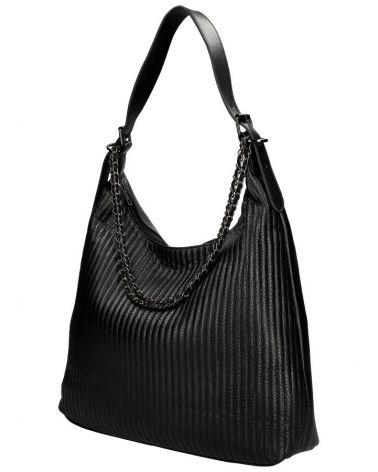 Am Montreux velká kabelka HOBO QUILTED BLACK 6333 6333_BK