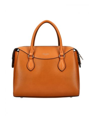 David Jones kabelka BUSINESS COGNAC CIARA BROWN 5734 CM5734_CC