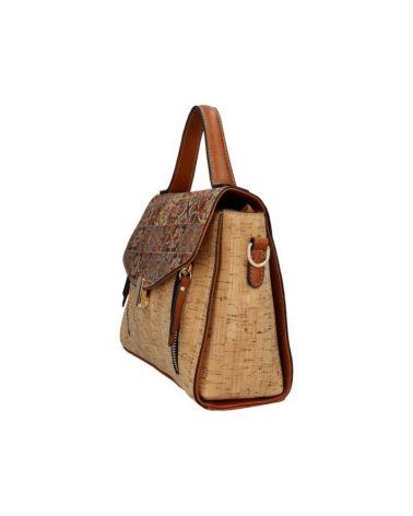 Korková kabelka do ruky i přes rameno AM CORK BEA 3-884 KR884-3_BN