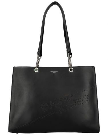 David Jones kabelka shopperka LASER LOGO BLACK 6223 6223_BK