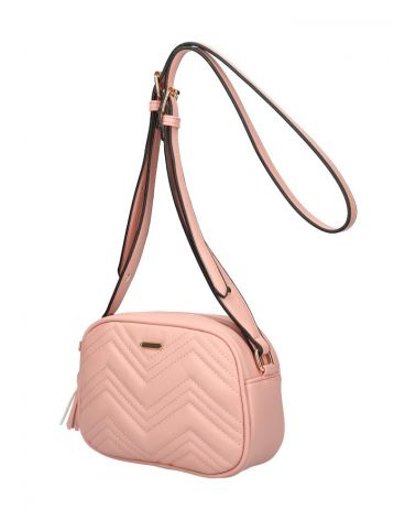 Am Montreux kabelka crossbody QUILTED PINK 092 SZ092_PK