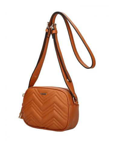 Am Montreux kabelka crossbody QUILTED BROWN 092 SZ092_BN