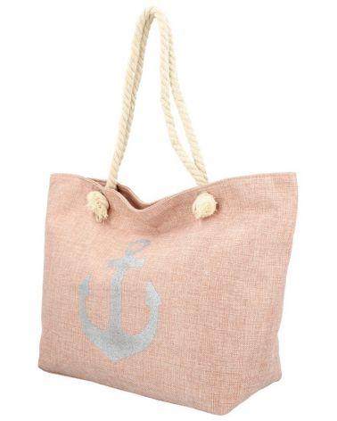 Sweet & Candy velká shopper taška NUDE BEACH 772 BS772_NE