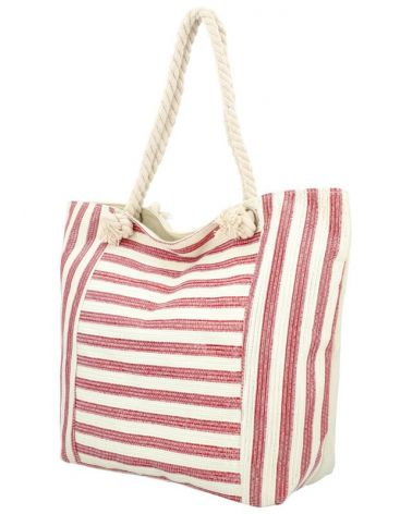 Sweet & Candy velká shopper taška BURGUNDY BEACH 412 412_BY