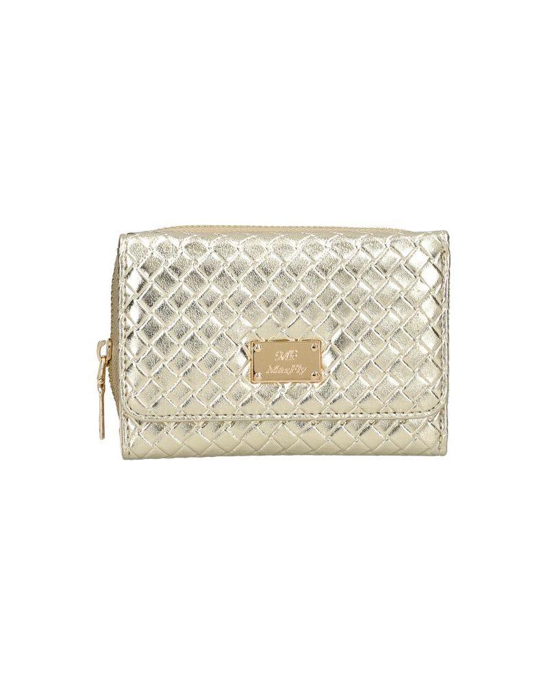 MaxFly dámská peněženka zlatá 1805 MF1805_GD