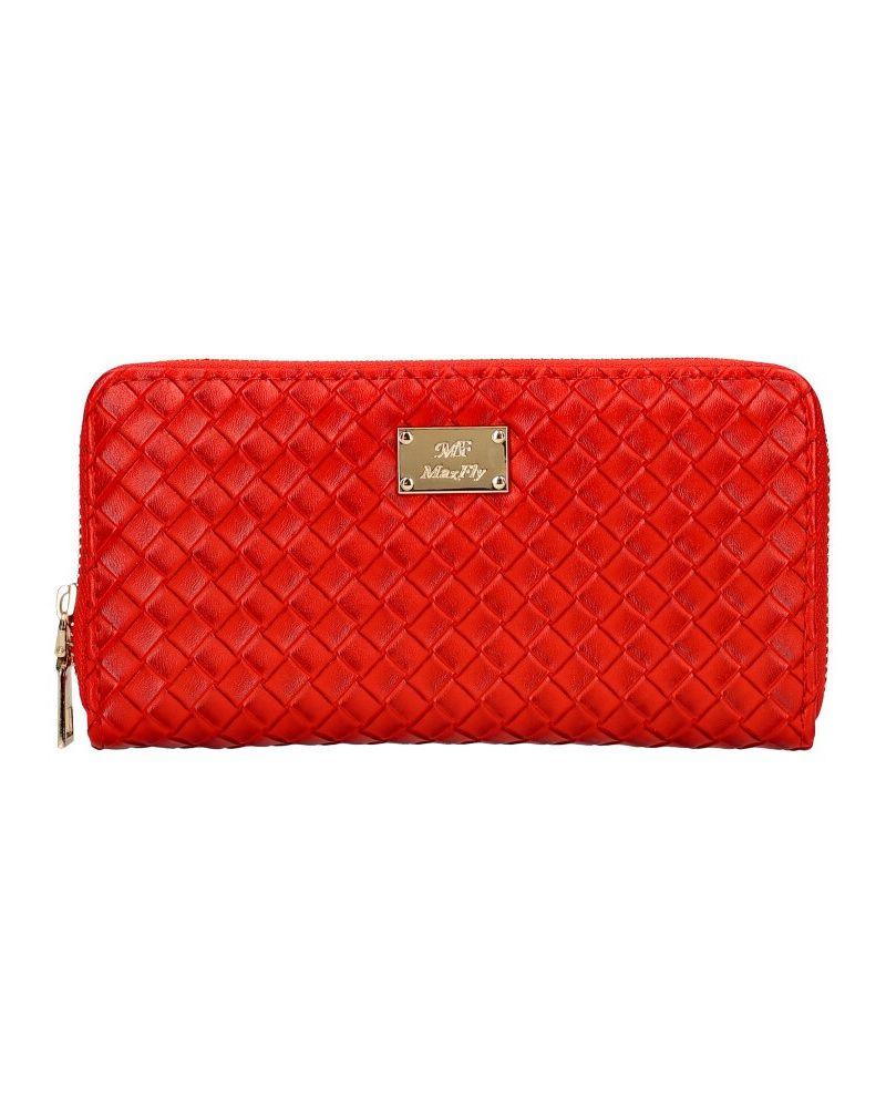 MaxFly dámská peněženka červená 1812 MF1812_RD