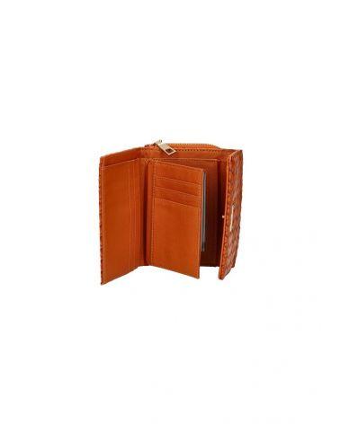 MaxFly dámská peněženka hnědá 1805 MF1805_BN