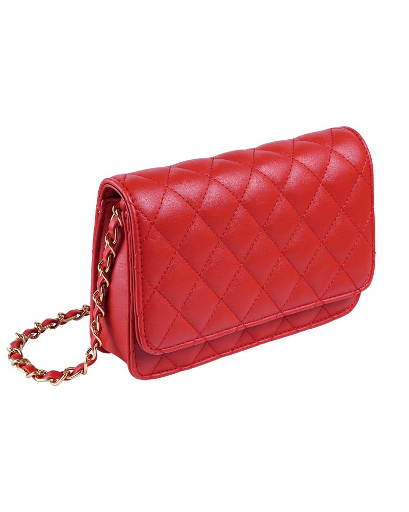 Kabelka crossbody YEH QUILTED RED 510532 Y0510532_RD