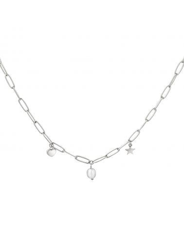 Dámský náhrdelník YEH HEART AND PEARL 0216130 Y0216130_SI