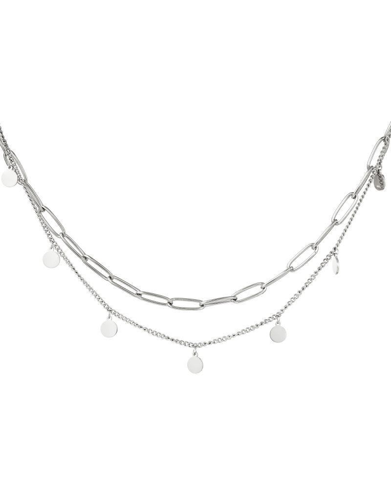 Dámský náhrdelník YEH CHAIN CIRCLE 216179 Y0216179_SI