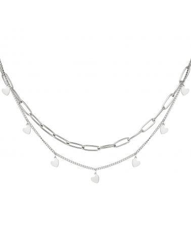 Dámský náhrdelník YEH CHAIN MY HEART 216180 Y0216180_SI