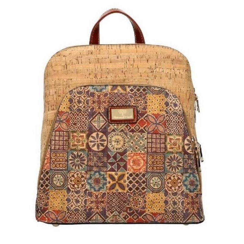 Korkový dámský batoh AM CORK BOB 018-1 SM018-1_BN