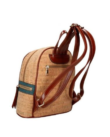 Dámský korkový batoh AM CORK MAX 01 SM001-1_BN