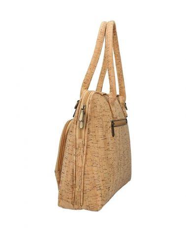 Korková kabelka velká AM CORK ANNA 3 74 AM0074-3_BN
