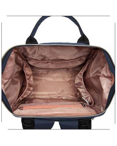 Kono multifunkční modrý dámský batoh 1945 taška na kočárek E1945_NY