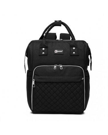 Kono mateřský přebalovací batoh na kočárek černý s USB 6705 E6705USBBK