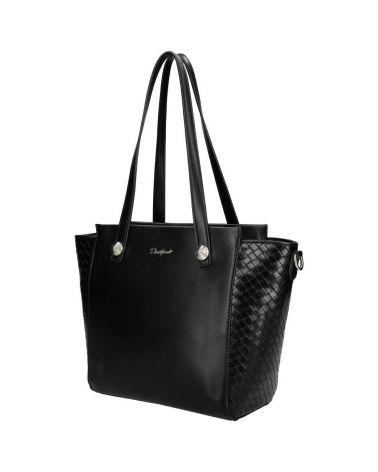 David Jones kabelka shopperka ELIZE BLACK 6081 cm6081_BK