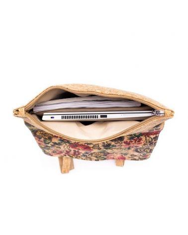Korkový dámský batoh AM CORK LAPTOP PALM 619C MB619C