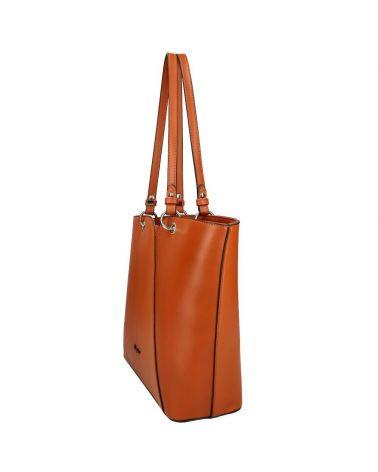 David Jones kabelka shopper ELLEANA COGNAC 6082 CM6082_CC