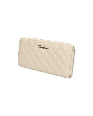 David Jones dámská peněženka krémová P106 P106510_CM