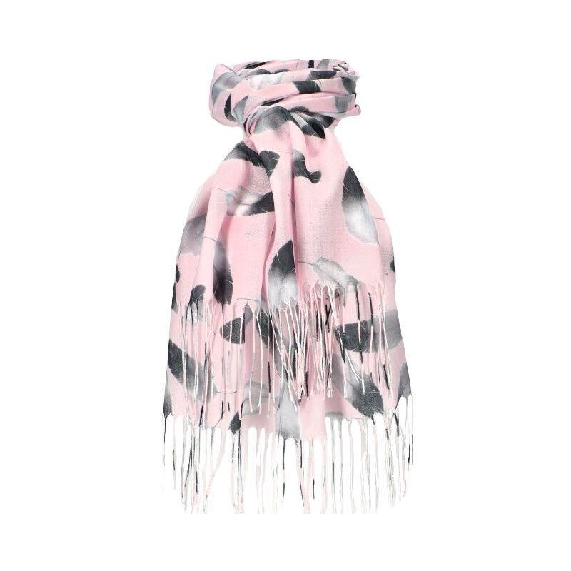 Dámský šátek růžový FEATHER 11038773_PK