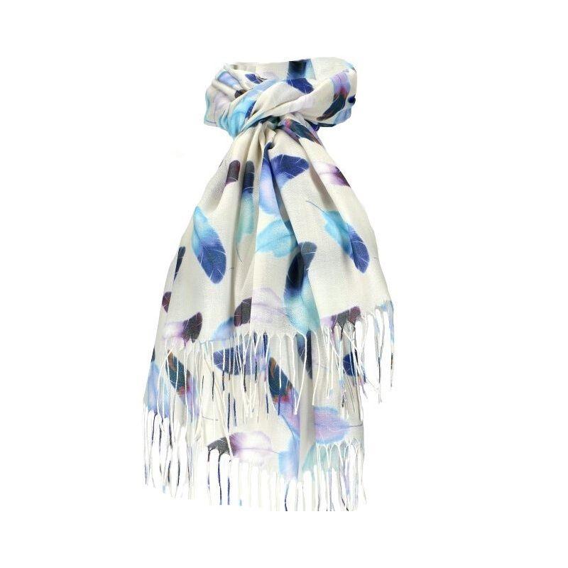 Dámský šátek bílý krémový FEATHER 11038773_BG