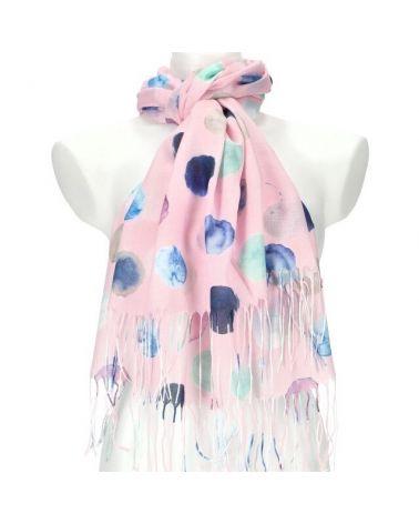 Dámský šátek růžový DOTTED 11038773_PK