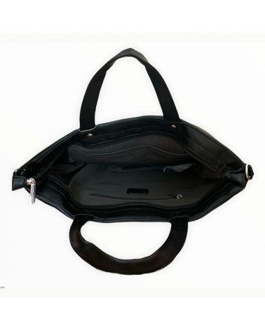 David Jones kabelka shopper QUILTED černá 6608 6608_BK