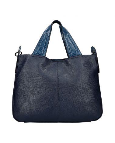 Valentina Madrid kabelka shopper velká tmavě modrá A026 A026_BE